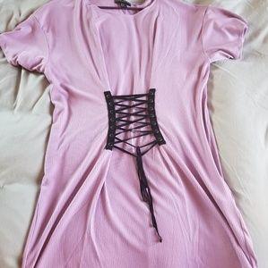 75797c6720f Forever 21 Dresses - Forever 21+ Plus size corset T-shirt dress